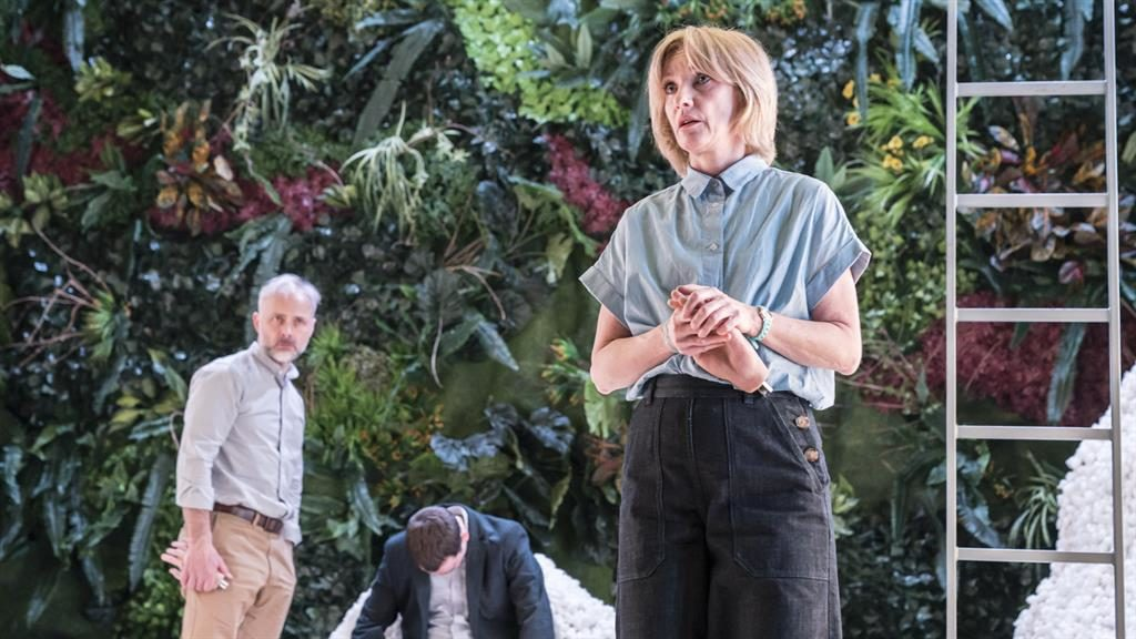 Flatpack family: Jane Horrocks (right) plays Max, who orders an easy-to-assemble replacement for her son PICTURE: JOHAN PERSSON