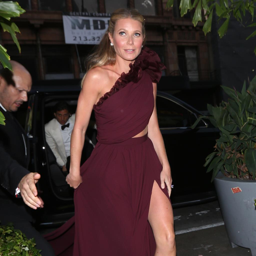 Gwyneth Paltrow hints star-studded bash was secret wedding