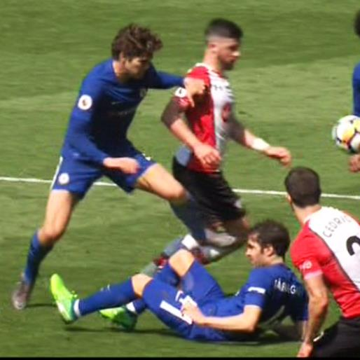 Chelsea star Alonso charged by FA