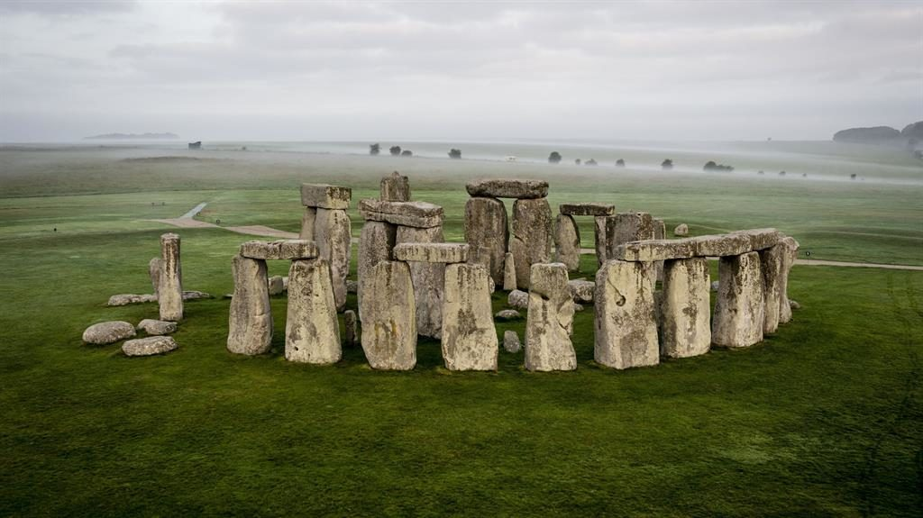 Far-reaching views: Experts say Stonehenge is a whole landscape PICTURE: PA