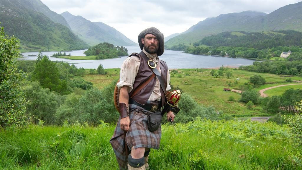 Great Scot: Andy The Highlander leads location tours