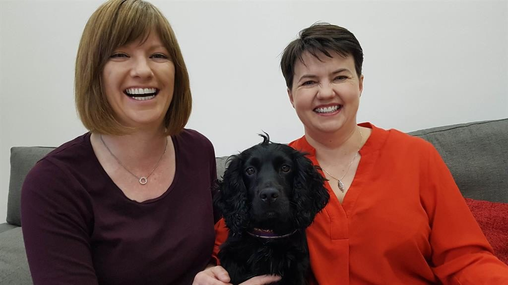 Ruth Davidson announces she is pregnant with her first child