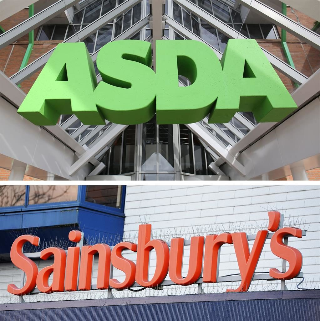 United Kingdom grocer Sainsbury's to buy Walmart's Asda for £7bn