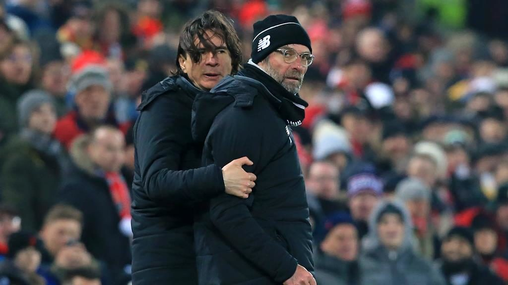 Liverpool assistant manager 'quits club' after 'dispute' with Jurgen Klopp