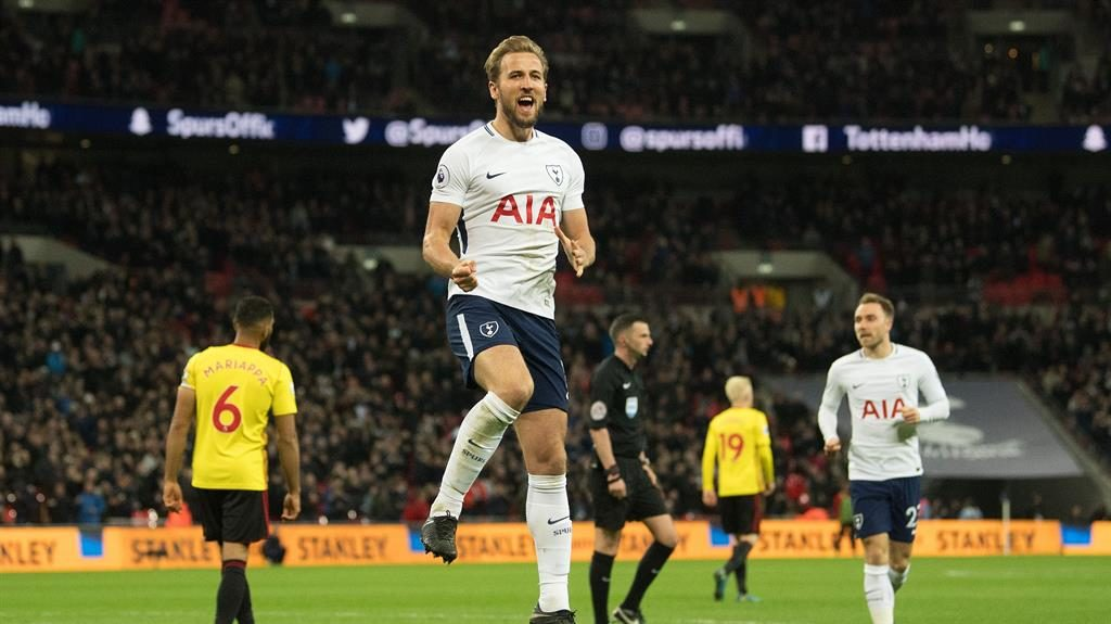 Harry Kane soothes Wembley headache and keeps Mo Salah in his sights