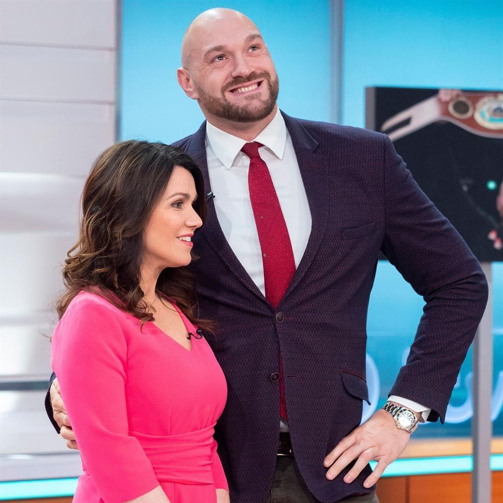 Heavyweight Tyson Accused Of 'fat Shaming' TV Star Susanna