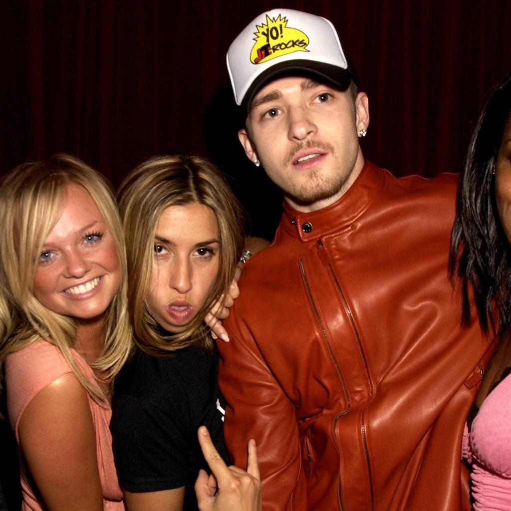 Justin Timberlake hooked up with a Spice Girl