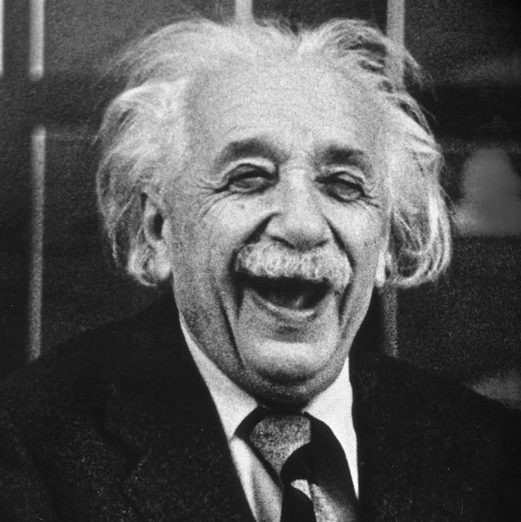 It's all in the genius: Research indicates that brilliant people such as Albert Einstein have bigger brain cells than others PICTURE: GETTY