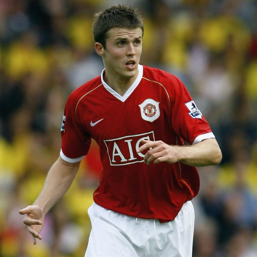 Curtain call Carrick on his first league start for United in August 2006 PIC GETTY