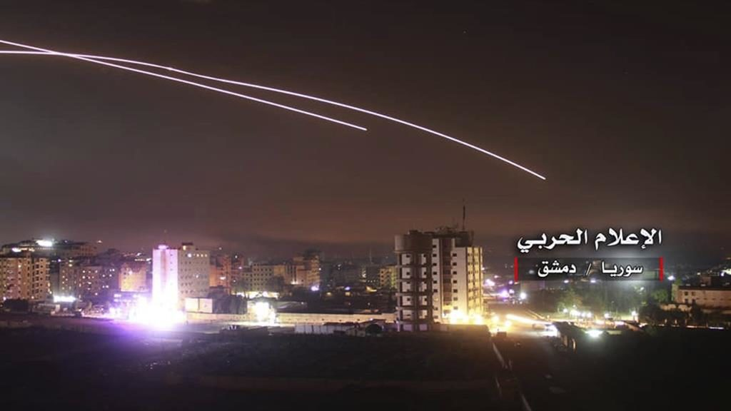 Israel strikes 'almost all' Iranian infrastructure sites in Syria
