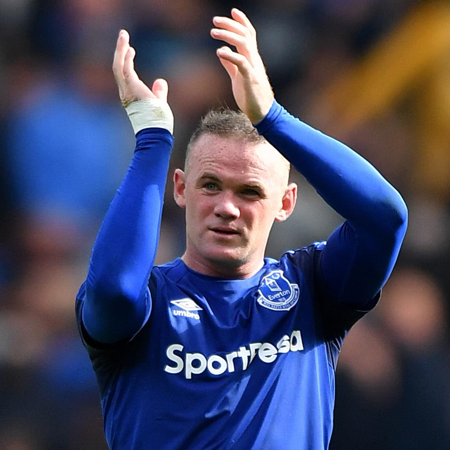 Coach Allardyce says Rooney hasn't asked to leave Everton