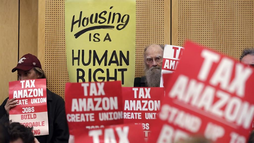 Homeless in Seattle to get help from city 'Amazon tax'