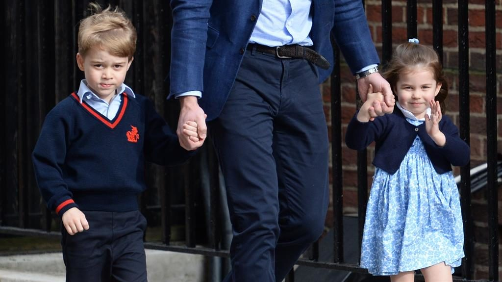 Experienced duo: Prince George and Princess Charlotte were pageboy and bridesmaid at the Duchess of Cambridge's sister, Pippa Matthews', wedding last year