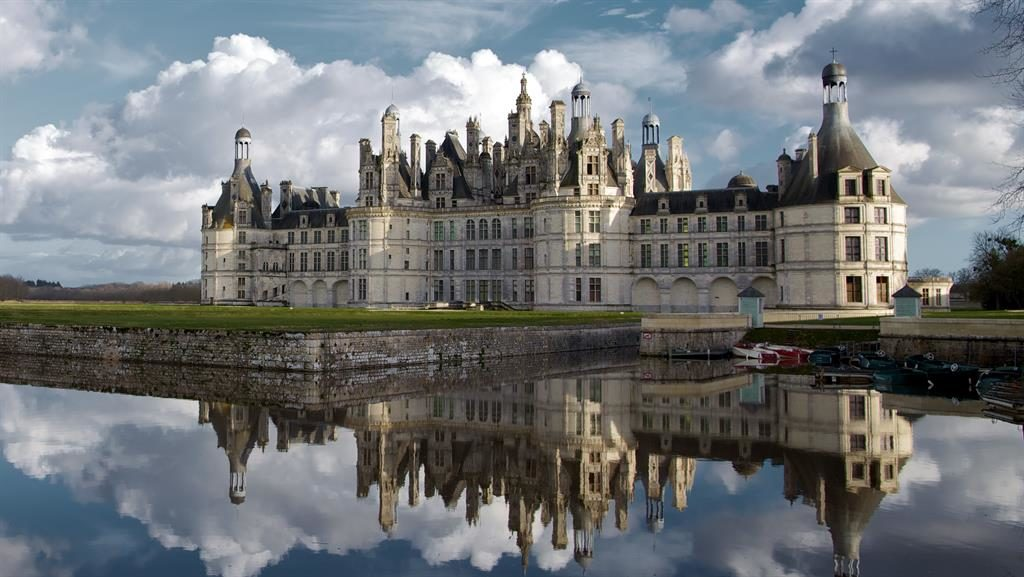 Inspiring: The magnificent Château de Chambord in France's Loire Valley