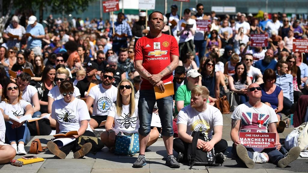 Manchester concert bombing fatalities remembered on first anniversary