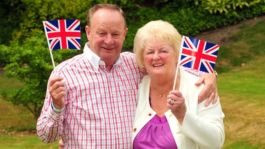 'Naturally caring': Ray Wragg with his wife Barbara, who has died aged 77