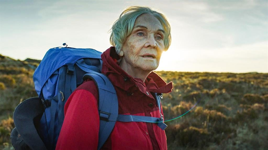 Peak of her powers: Sheila Hancock gives a towering performance as the 83-year-old would-be mountaineer