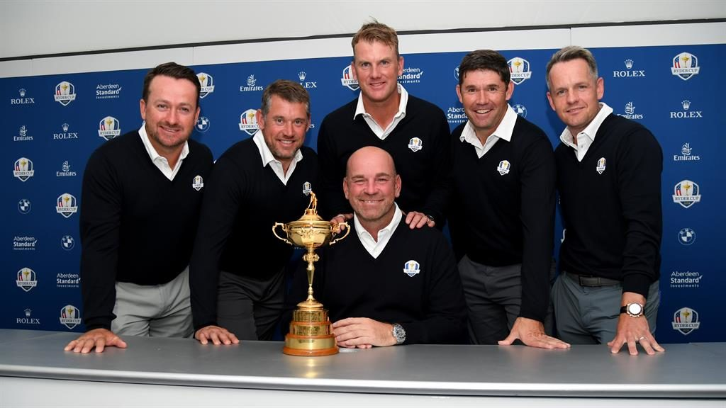 Bjorn names Westwood, Harrington, Donald and McDowell as Europe vice-captains