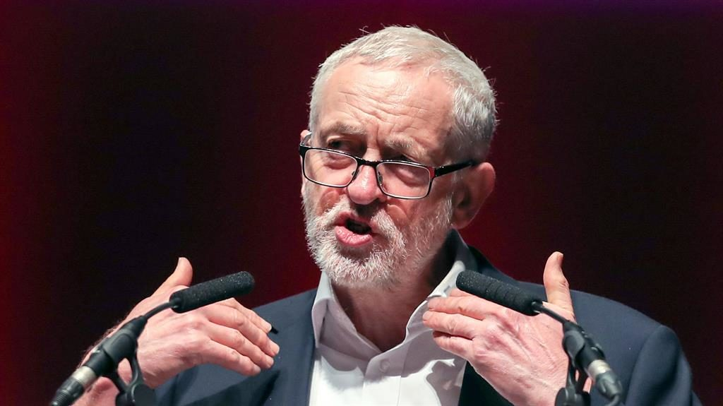 Corbyn calls for British-Irish body to be reconvened
