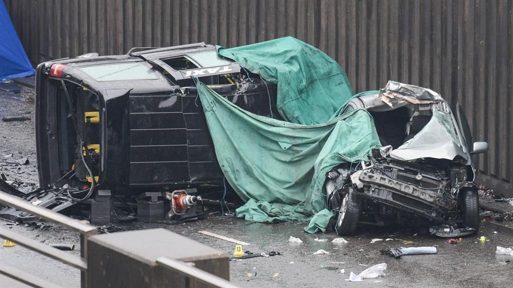 Devastation: The crash scene