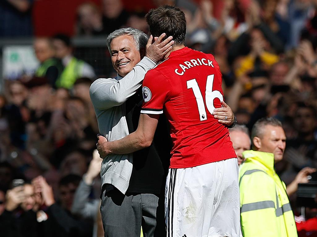 One of the best Carrick says he didn't think twice about having the opportunity of working under Jose Mourhino