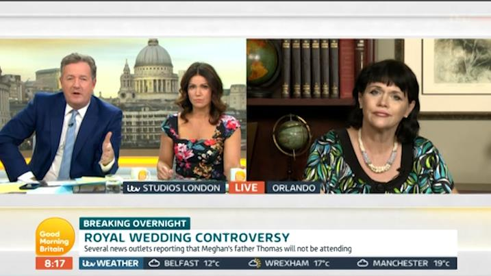 Piers Morgan Tears Shreds Off Meghan Markle's Sister Live On Television