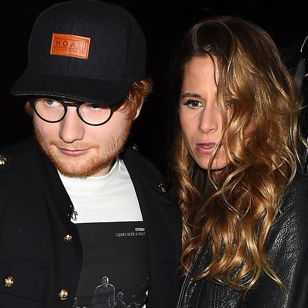Getting hitched: Ed Sheeran and Cherry Seaborn