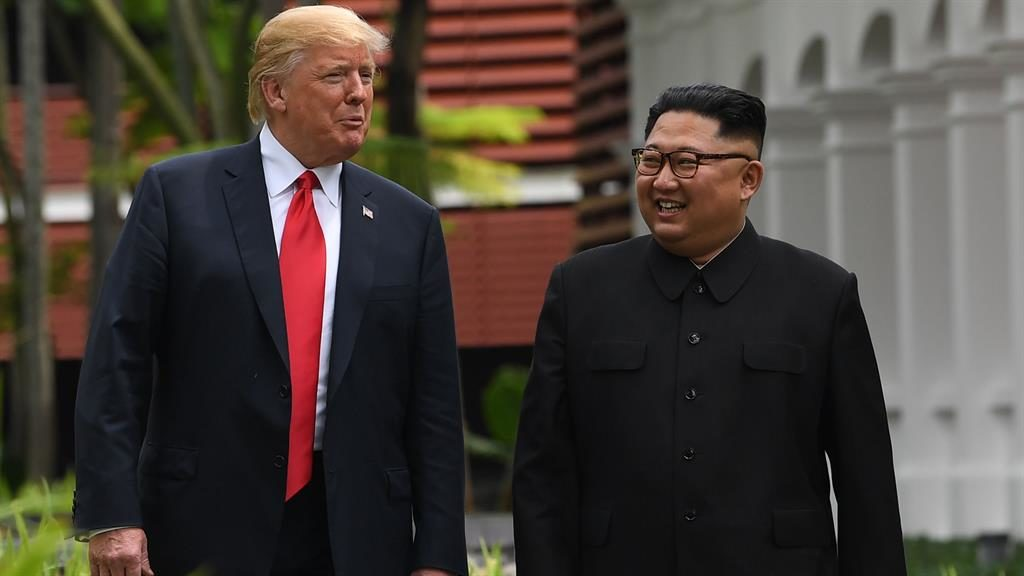 United States  and N Korean leaders to visit each other's countries
