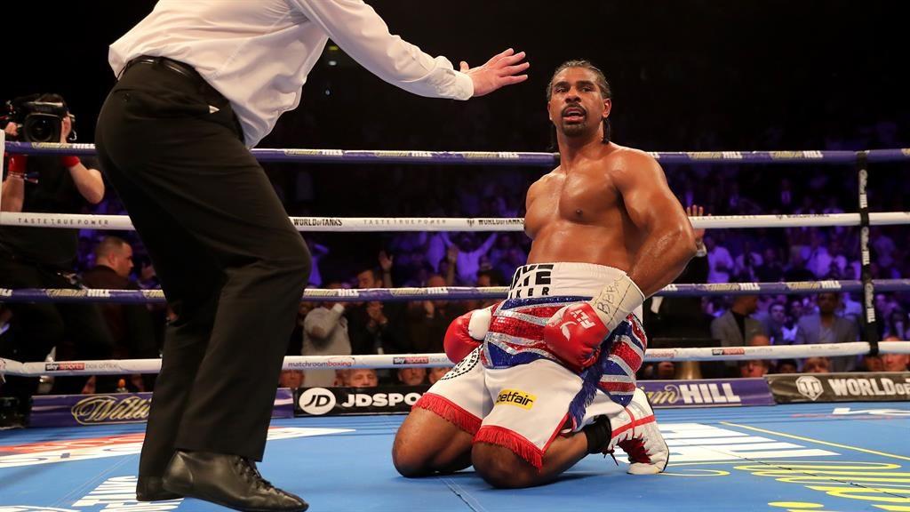 'The start of something new' - British heavyweight boxer David Haye retires