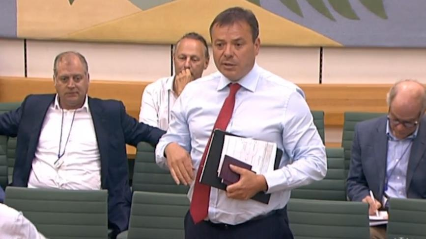 Brexit funder Arron Banks expects 'fireworks' at hearing into Russian Federation links