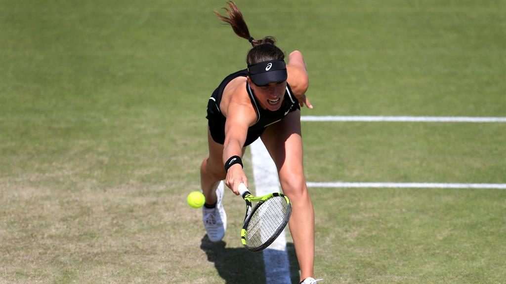 Johanna Konta beats Heather Watson in straight sets at Nottingham