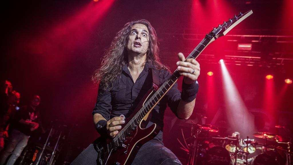 Deth stars: Megadeth axeman Kiko Loureiro