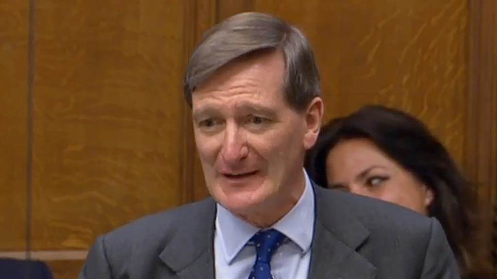 Dominic Grieve Rebels could 'collapse government'			 				     by Dominic Yeatman    Published