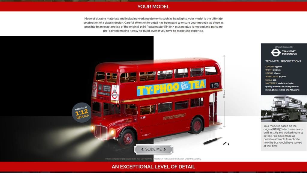 Pricey: Model Routemaster PIC: ASA/SWNS