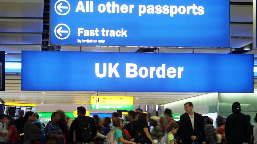 European Union immigration to Britain falls to five-year low, say ONS figures