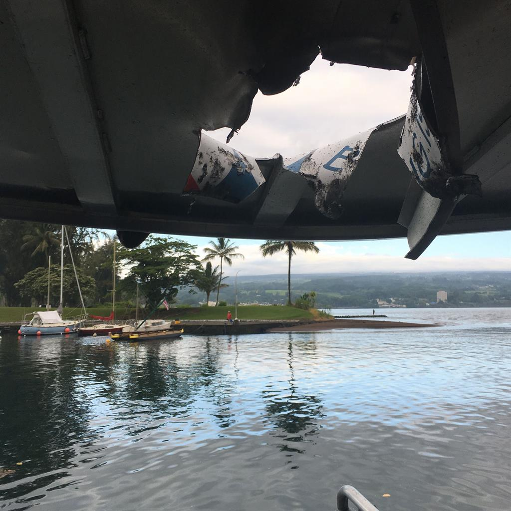 People Injured After 'Lava Bomb' Hits Roof of Hawaii Tour Boat