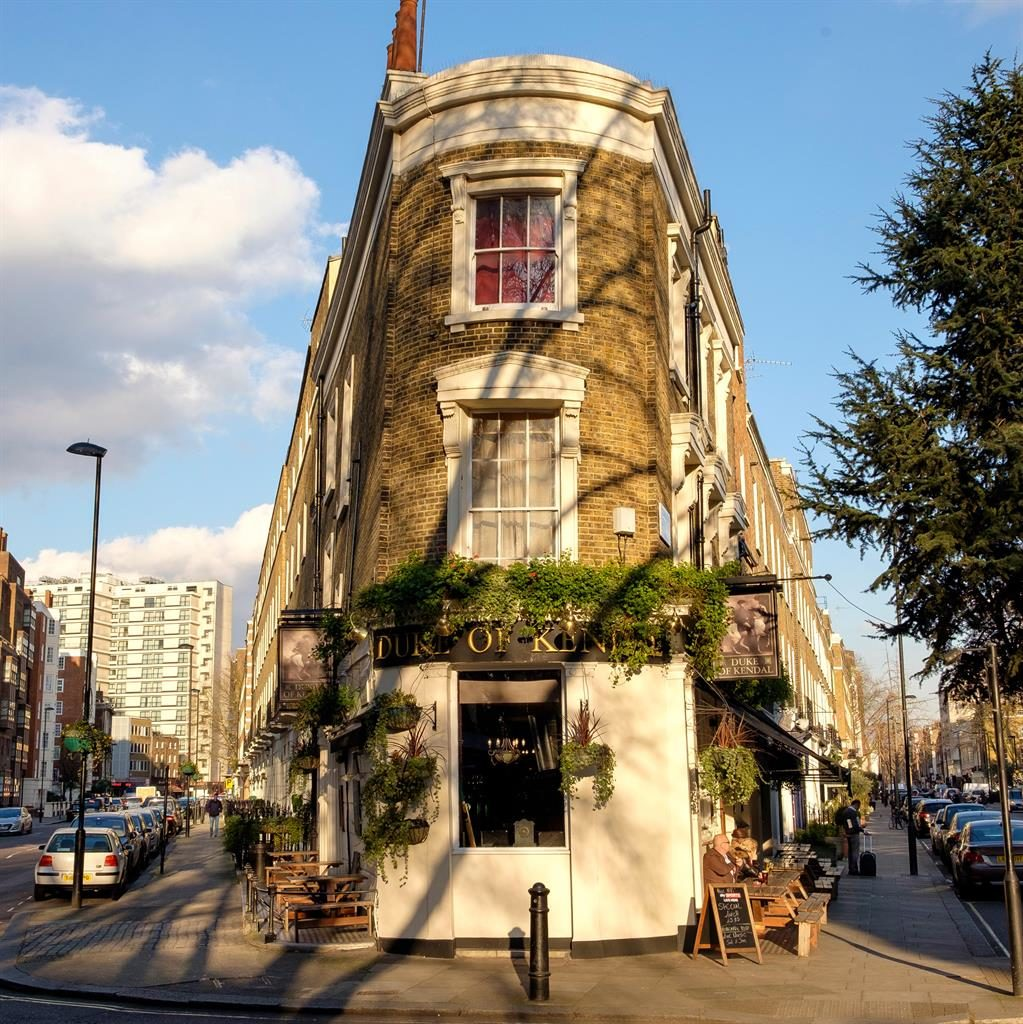 Watering hole: The Duke Of Kent pub in Connaught Village