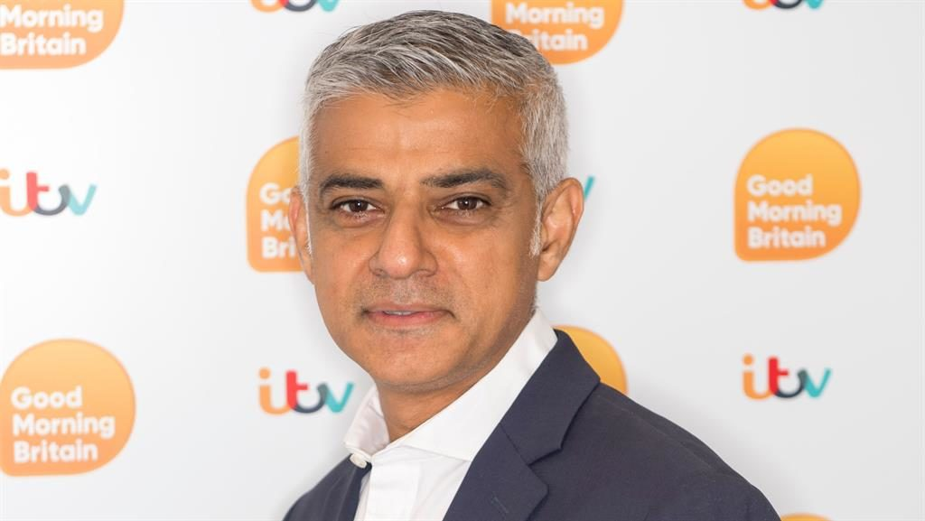 Differences: Mayor Sadiq Khan and (below) ex-mayor Boris Johnson PICS: REX/GETTY