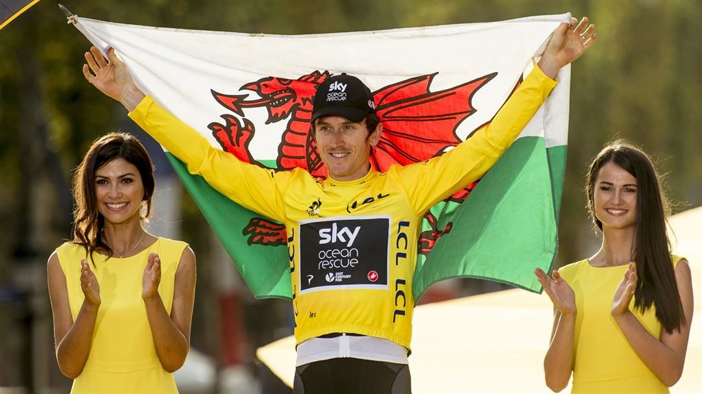 Geraint Thomas beats a four-time champion in Tour De France
