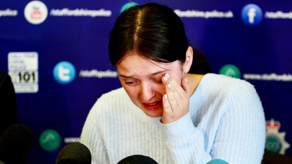 Sister plea: Gemma Eastwood