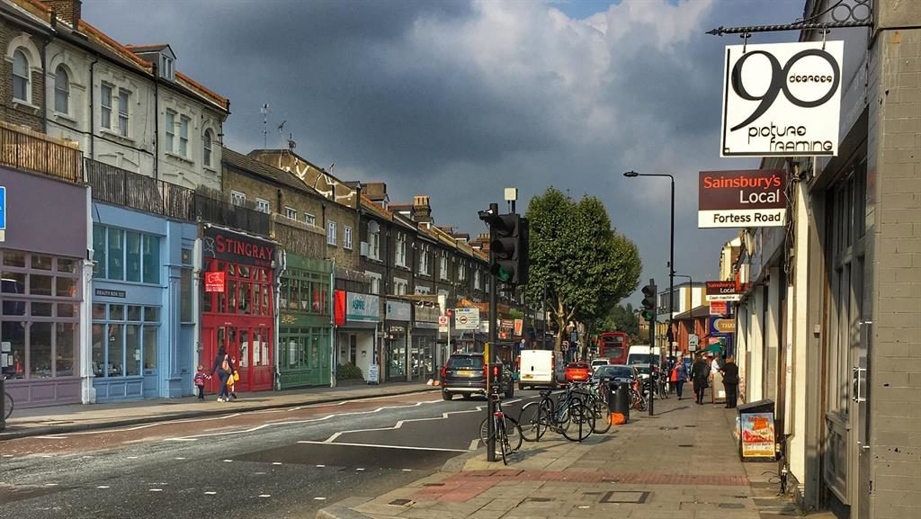 Thriving streets: Fortess Road PICTURE: ALAMY