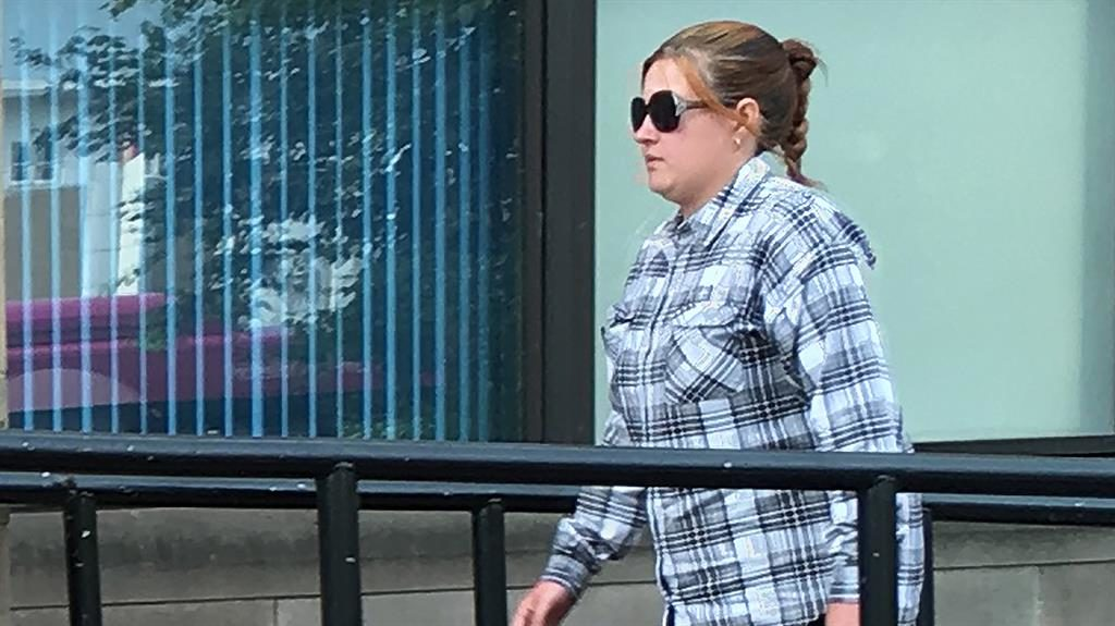 Jail: Carly Tomlinson PICTURE: DERBY TELEGRAPH/BPM MEDIA