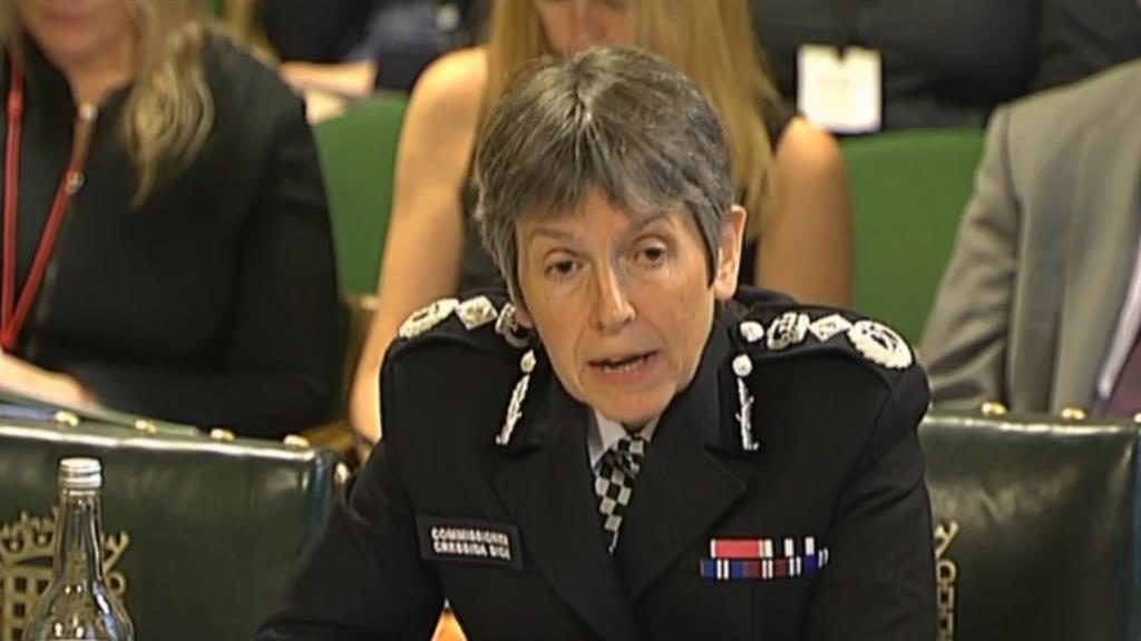 'Not a hate crime': Metropolitan Police commissioner Cressida Dick PICTURE: PA