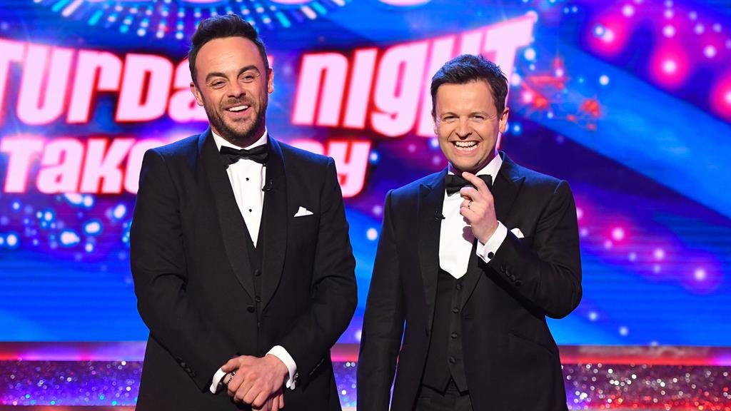 Primetime stars: Ant & Dec host Saturday Night Takeaway PICTURE: ITV/REX