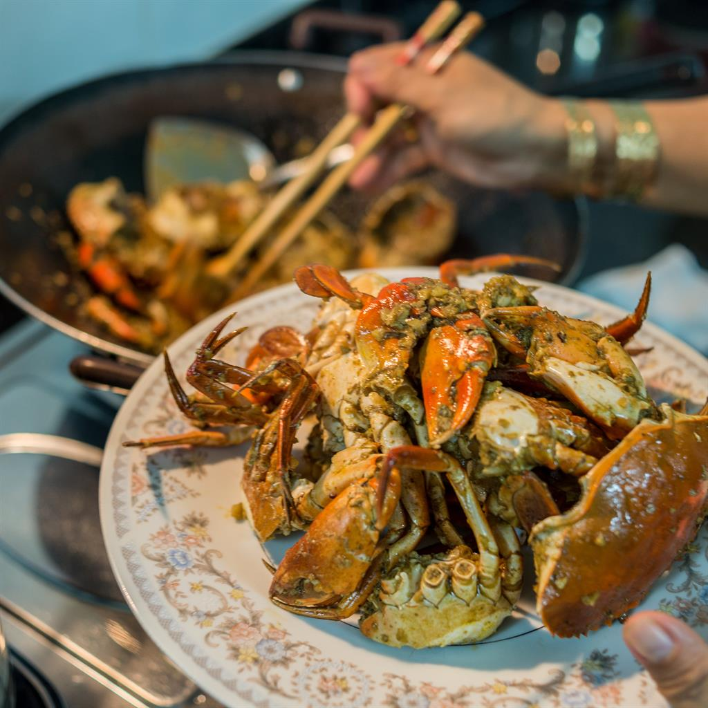 Snappy service: Chilli crab is the thing to grab in Singapore