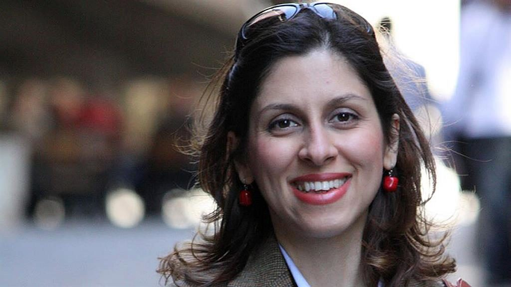 Reprieve: Nazanin Zaghari-Ratcliffe has spent 873 days in prison PICTURES: PA