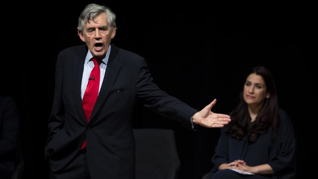 Image result for labour shoul adopt ihra definition says gordon brown