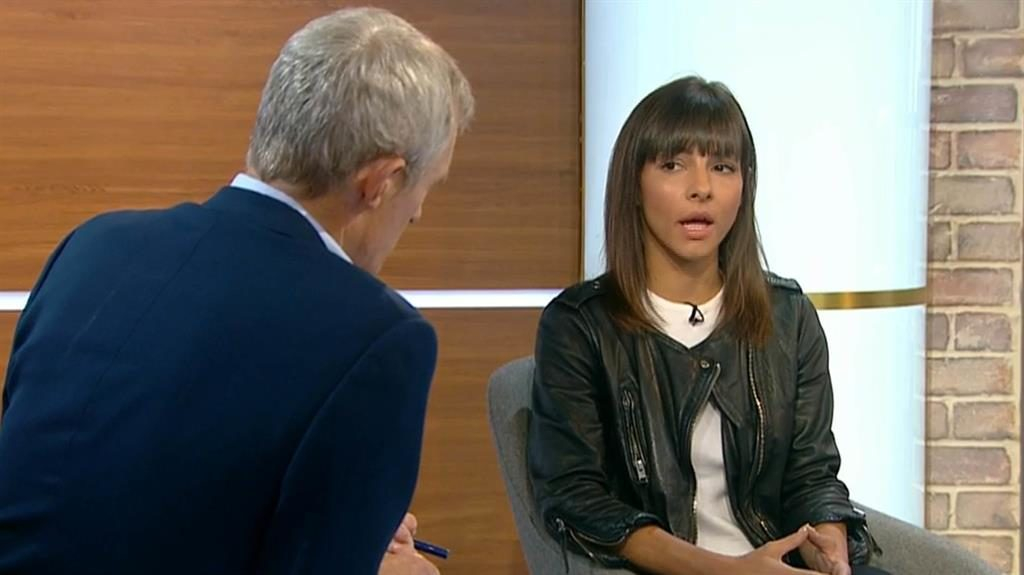 'I was wrong': Roxanne Pallett PIC: CHANNEL 5