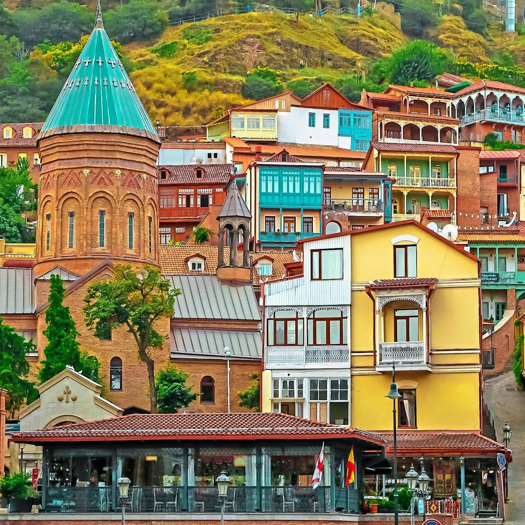 Creative renaissance: Lumley's favourite city, Georgia capital Tbilisi PICTURE: SHUTTERSTOCK