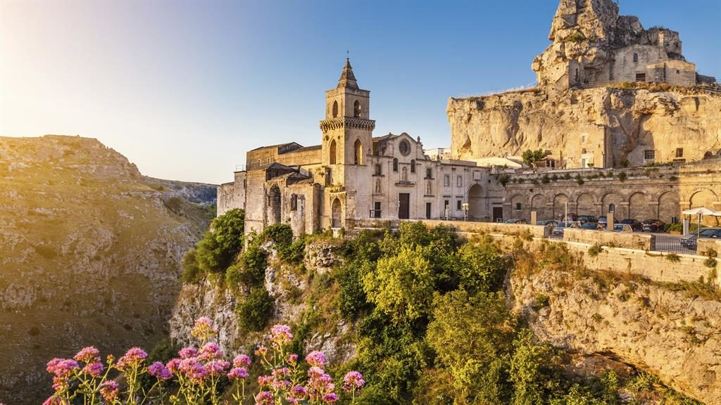 Rocky surroundings: Matera is renowned for its Sassi district PICTURE: GETTY